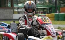 Oliver Korn fuhr zweimal unter die Top-Ten in der JuniorMAX/World
