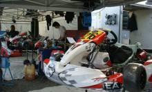 Am Sonntag nutzte man den Testtag, um das EA-Chassis auch neuen Fahrern und Interessenten vorzustellen