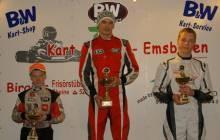 Coen Nijsen auf Platz 1 und Larry ten Voorde auf Platz drei